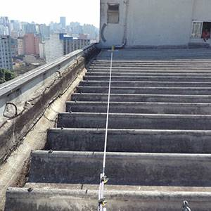 Linha de vida em telhados